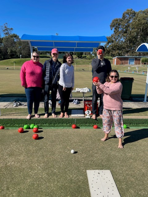 Barefoot bowls for young adults with mild disabilities
