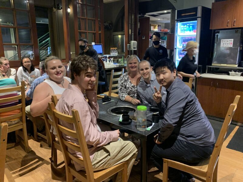 Korean BBQ for young adults with mild disabilities