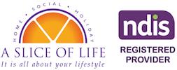 A Slice of Life Logo