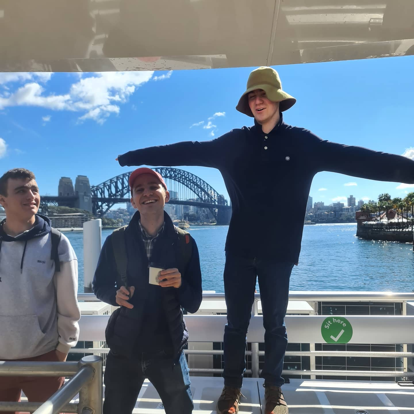 Manly ferry for young adults with mild disabilities