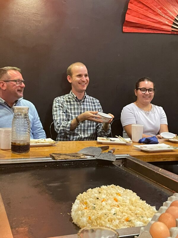 Catching rice for young adults with mild disabilities